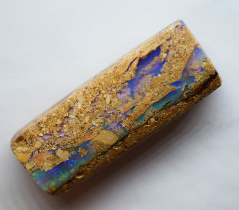 23.90CT VIEW WOOD REPLACEMENT BOULDER OPAL RI188