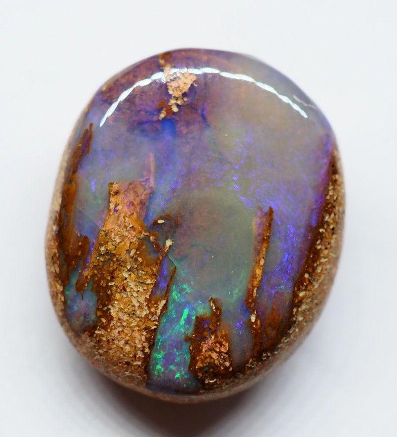 11.00CT VIEW WOOD REPLACEMENT BOULDER OPAL RI206