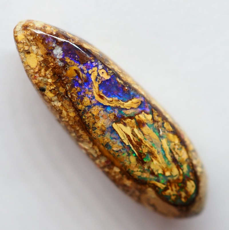 5.05CT VIEW WOOD REPLACEMENT BOULDER OPAL RI219