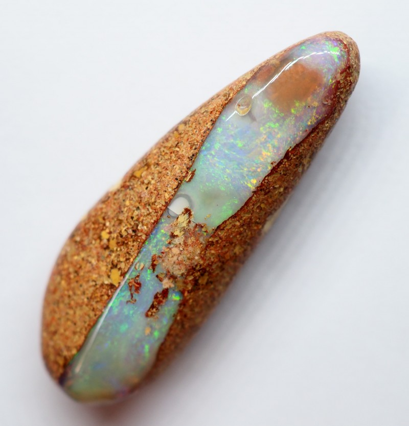 10.90CT VIEW WOOD REPLACEMENT BOULDER OPAL RI224