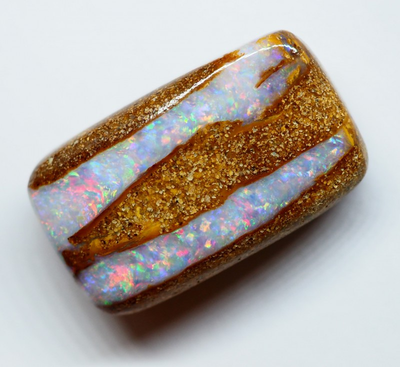 21.60CT VIEW WOOD REPLACEMENT BOULDER OPAL RI239