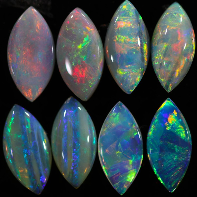 4.35 CTS CRYSTAL OPAL PARCEL CALIBRATED FROM COOBER PEDY- [SEDA318]