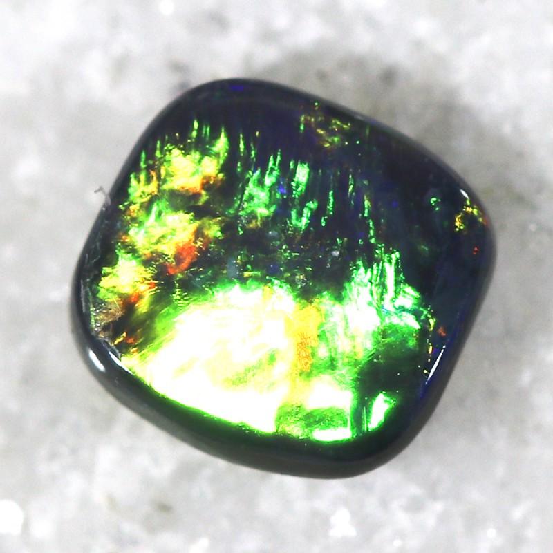 0.45 Cts Nice Black Opal N2  SU 488