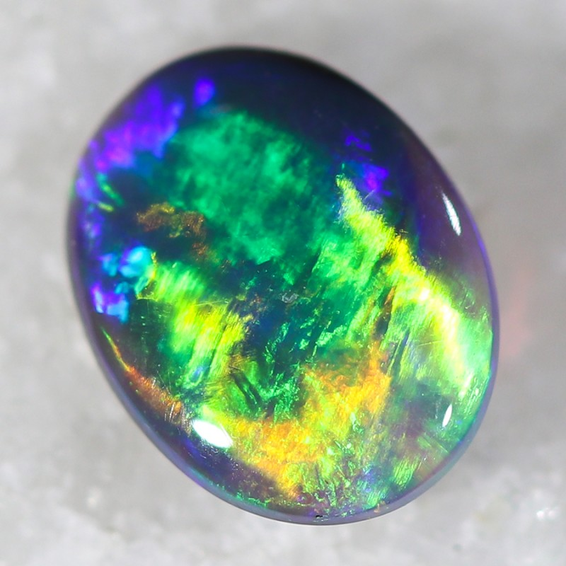 0.30 Cts Nice Black Opal N2  SU 490