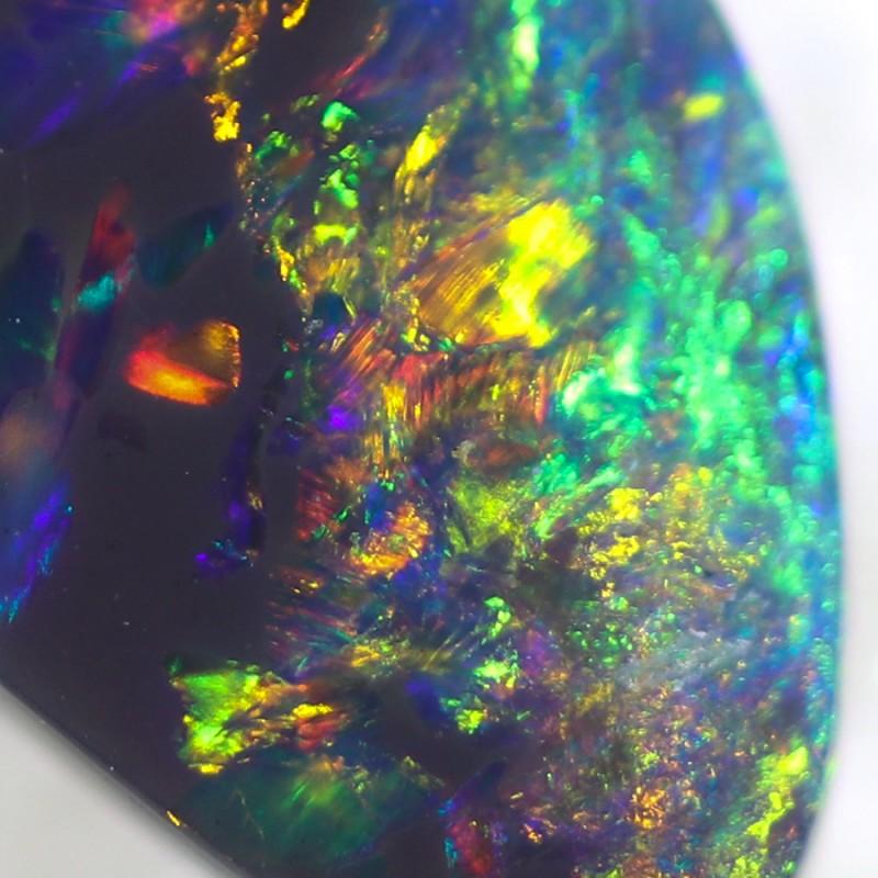 1.60 Cts Nice Black Opal N2  SU 498