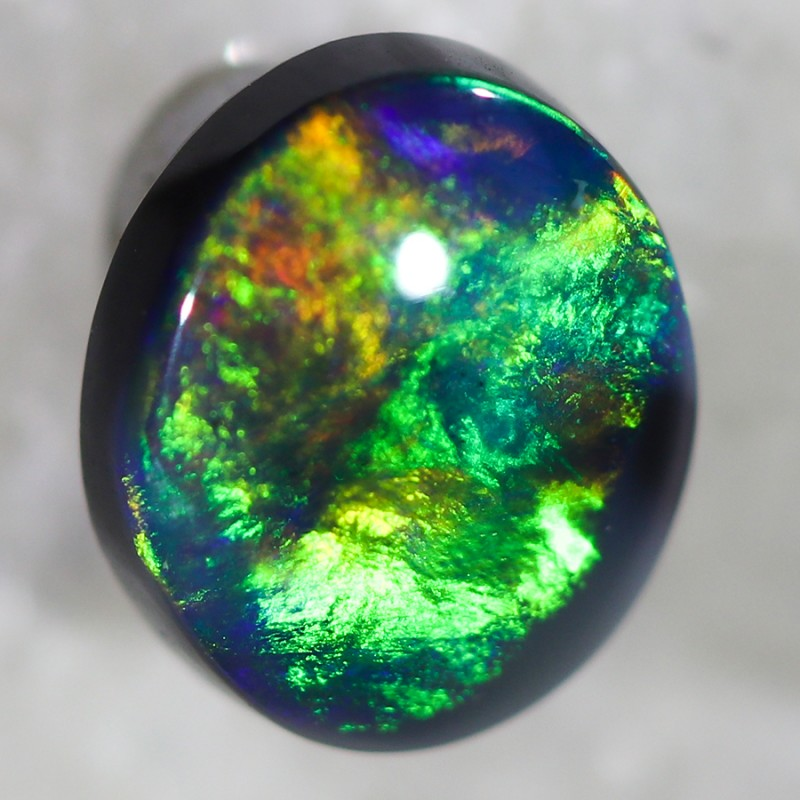 0.70 Cts Nice Black Opal N2  SU 499