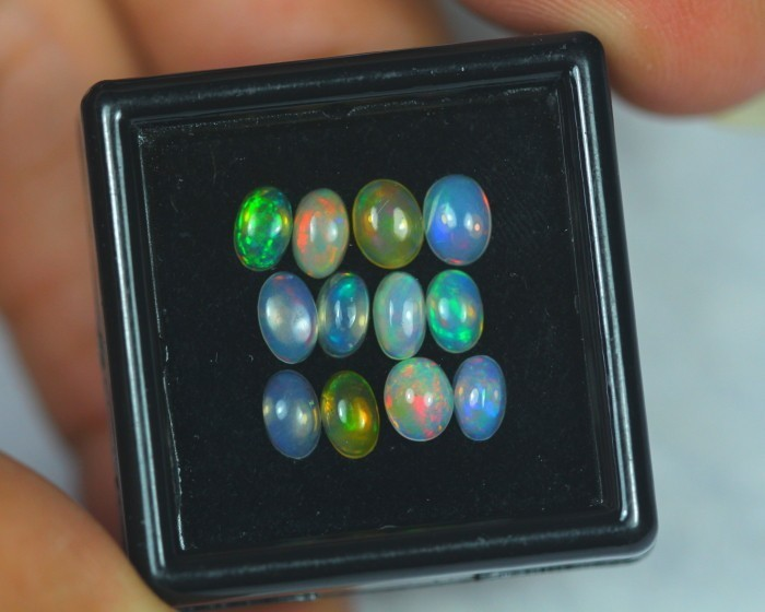 2.06Ct Natural Ethiopian Welo Opal Lot N03