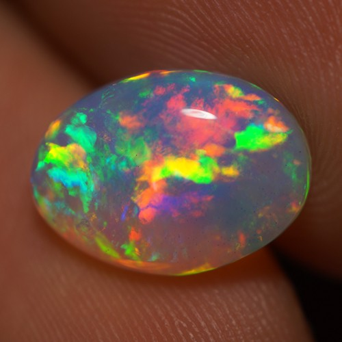 2.50 CT TOP QUALITY BEAUTIFUL FLASHY MULTI COLOR ETHIOPIAN OPAL-AD65