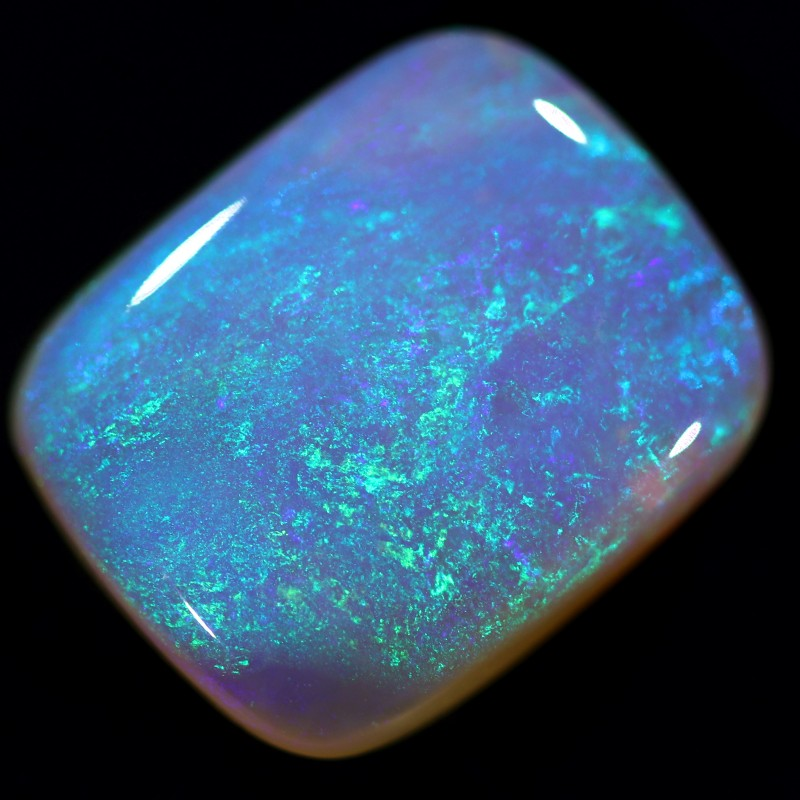 2.6ct 11x9mm Pipe Wood Fossil Boulder Opal  [YPB-0009]