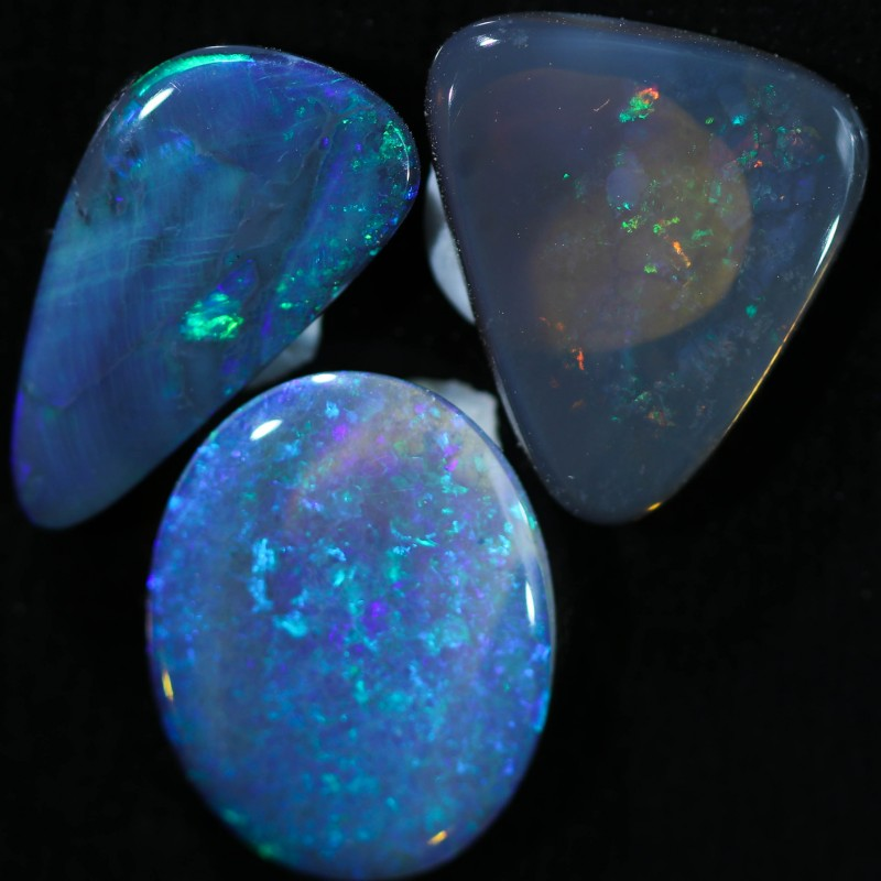 5.93 CTS BLACK OPAL PARCEL FROM LIGHTING RIDGE [SEDA404]