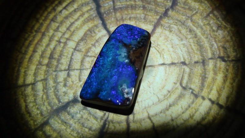 8.45 ct Beautiful Blue Natural Queensland Boulder Opal
