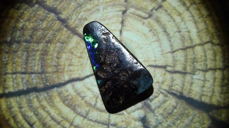 5.50 ct Gem Blue Green Natural Queensland Boulder Opal