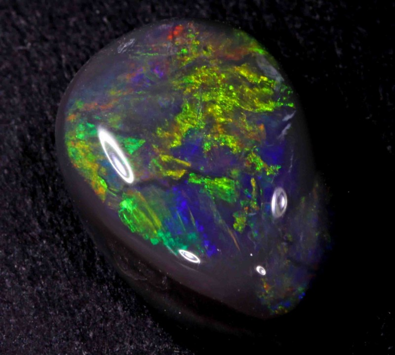FREE SHIPPING  5.70 CT BLACK OPAL FROM LR