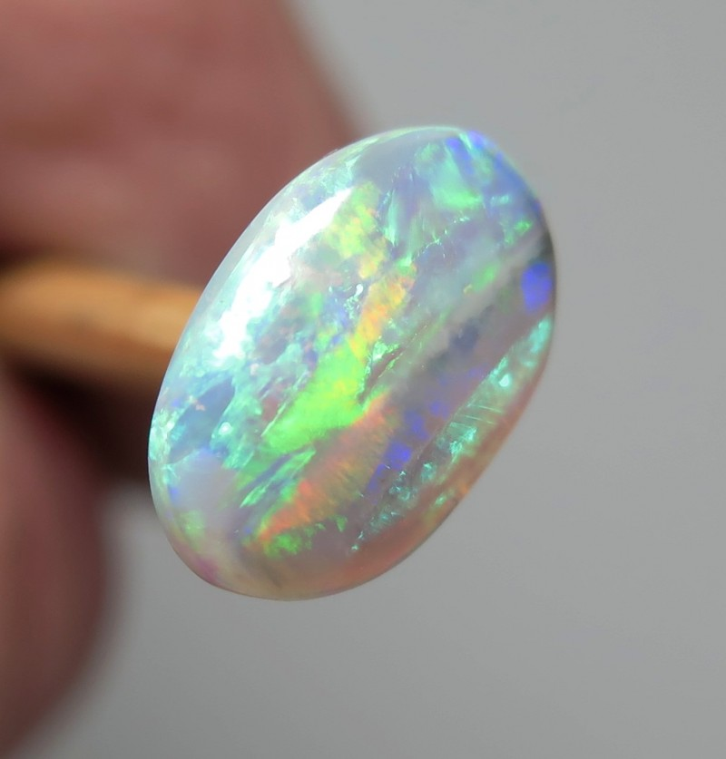 1.75Ct Lightning Ridge Crystal Opal stone