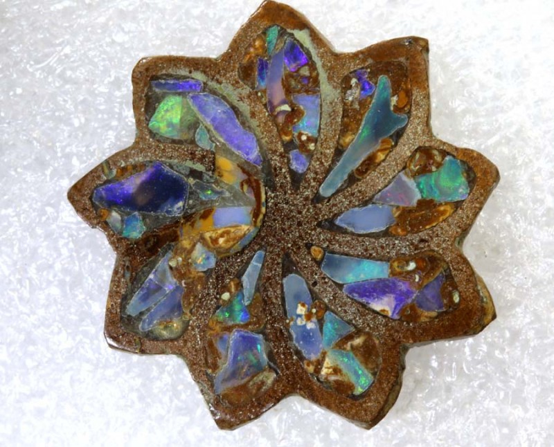11.65CTS BOULDER OPAL INLAY POLISHED STONE TBO-7991
