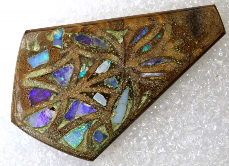 24.25CTS BOULDER OPAL INLAY POLISHED STONE TBO-7998