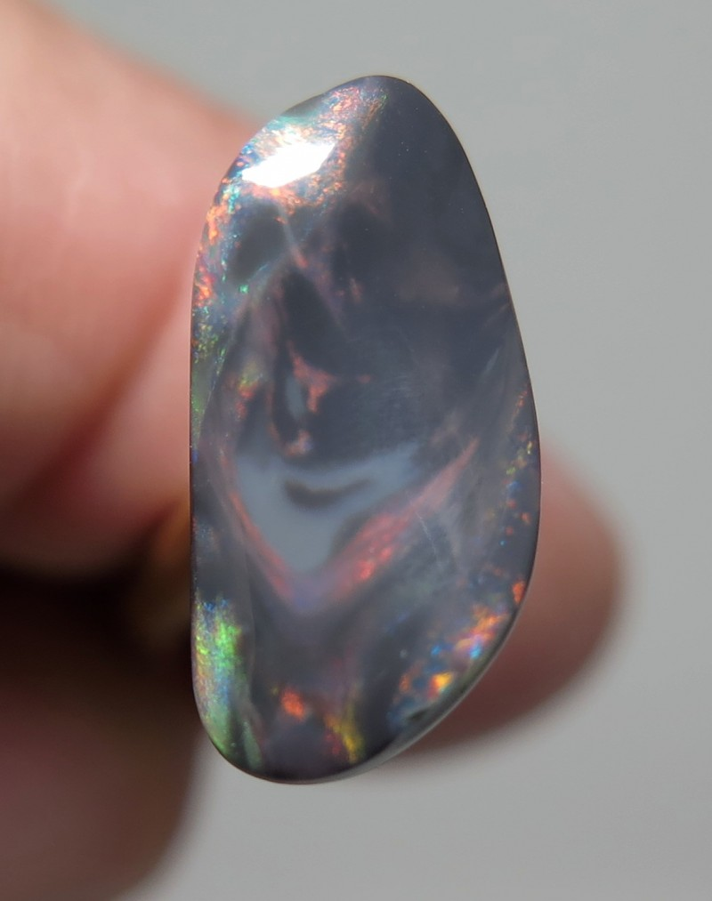 opals gem black direct product opal ct gemstone green