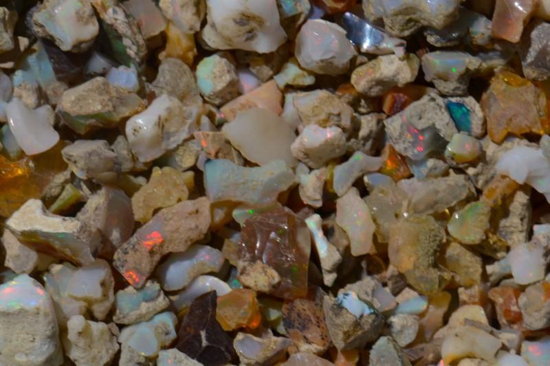 150cts Nice Rough  Opal Rough Parce  Estayish Mines Ethiopia NR Lot