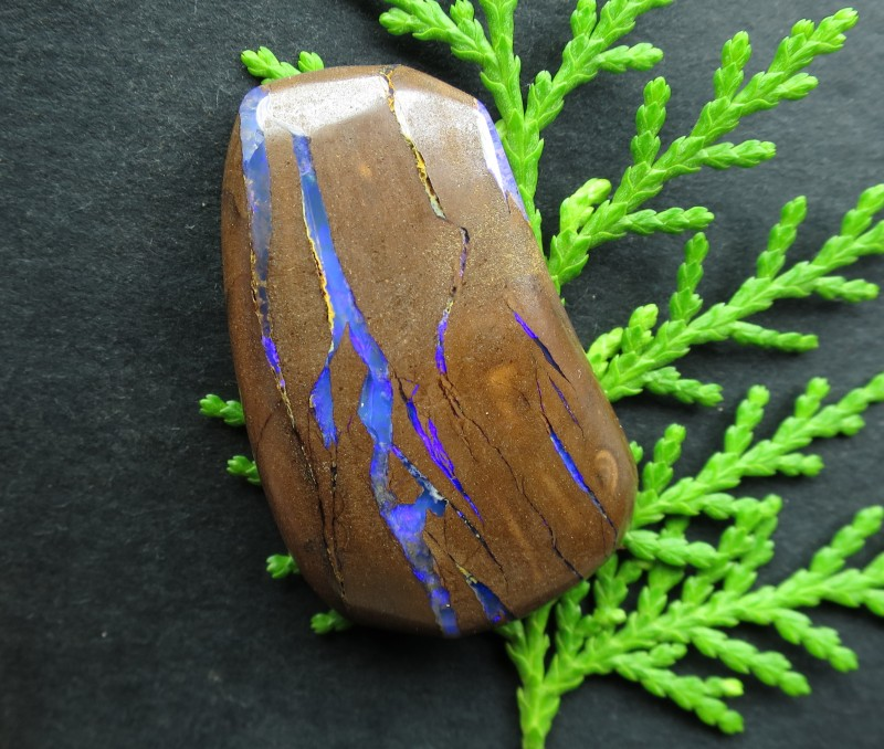 """64cts, """"BOULDER OPAL~BUY FROM THE MINER DIRECT!"""""""