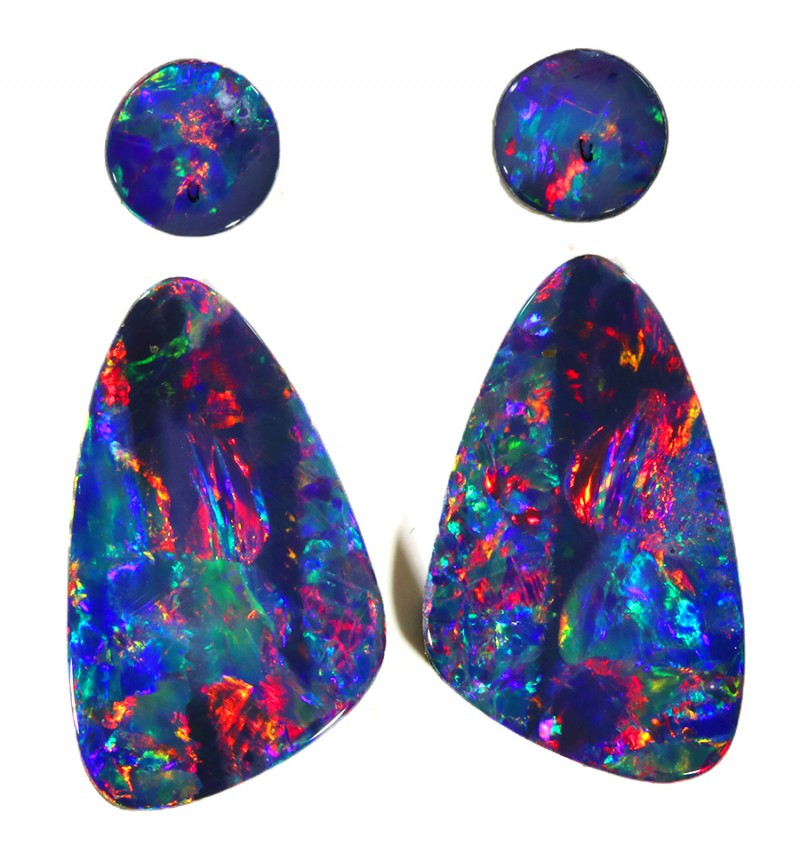 5.77Cts Opal Doublet from Cooper Pedy opal  SU1041