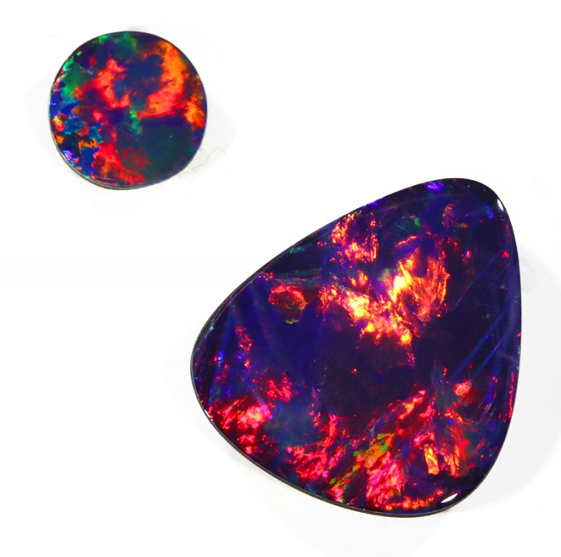 3.66Cts Opal Doublet from Cooper Pedy opal  SU1044