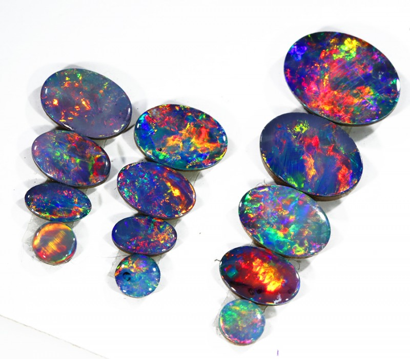 4.92Cts Opal Doublet from Cooper Pedy opal  SU1046