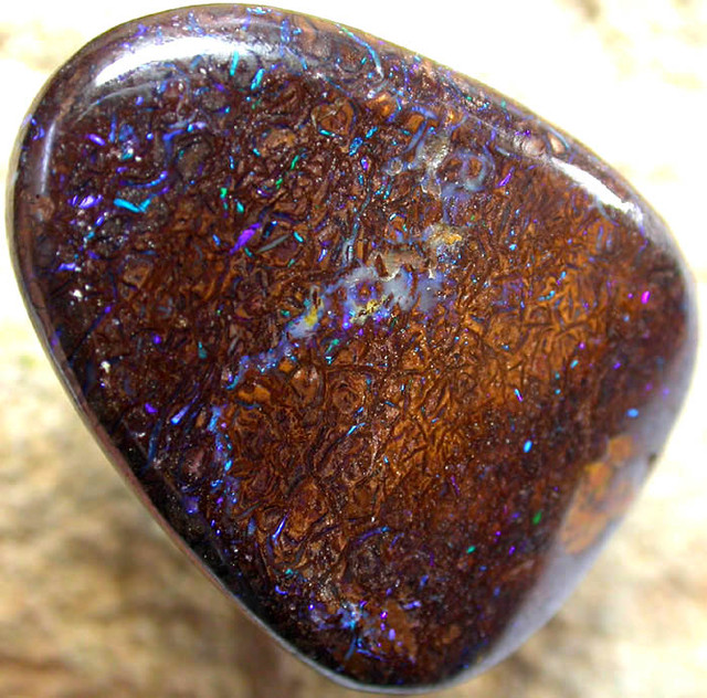 42.00 CTS AUSTRALIAN COLOR AND PATTERN KOROIT STONE  FJP741