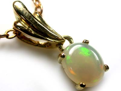 ADORABLE FIRERY CRYSTAL OPAL PENDANT 1 CTS SCO1988