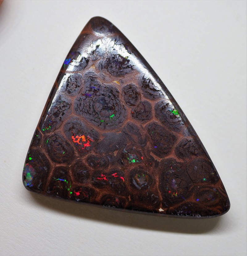 44.25CT GEM MATRIX  KORIOT OPAL  WITH AMAZING PATTERN TT208