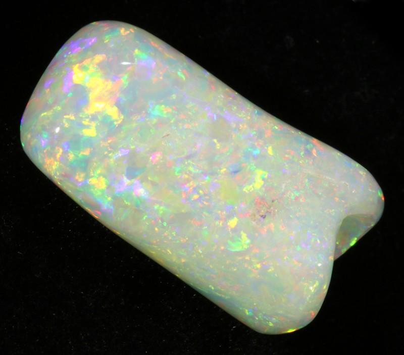 14.43Cts  fire Coober Pedy Belemnite  Opal   SU1111