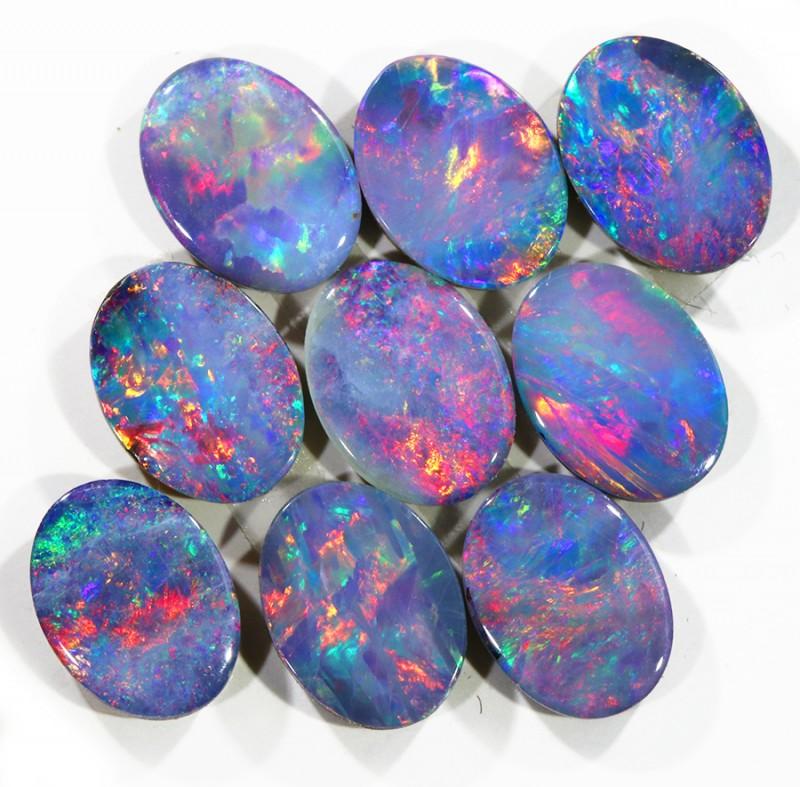 6.50Cts  Gem  Opal Doublet Parcel  SU1143