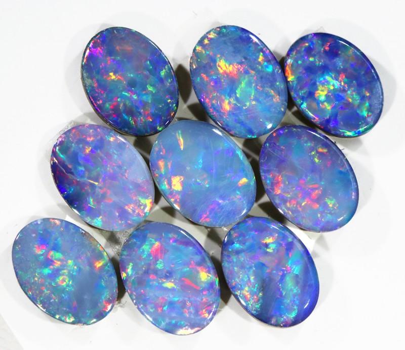 6.53Cts  Gem  Opal Doublet Parcel  SU1145