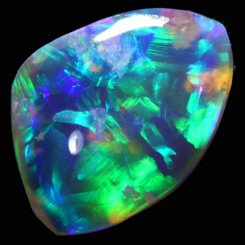 1.50 CTS CRYSTAL OPAL ROUGH  FROM LIGHTNING RIDGE [BR6062]