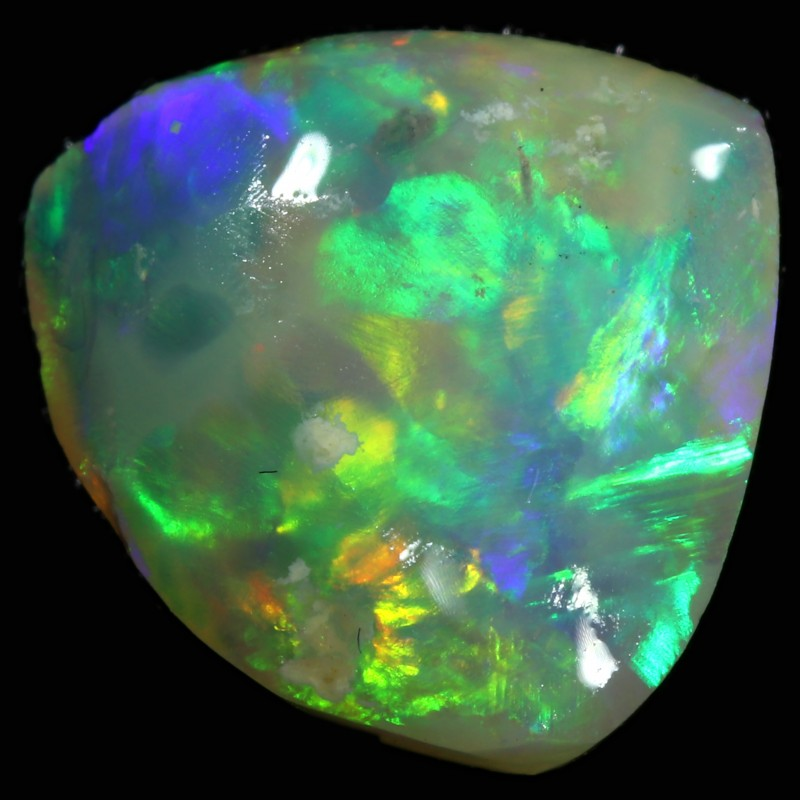 2.20 CTS CRYSTAL OPAL ROUGH  FROM LIGHTNING RIDGE [BR6065]
