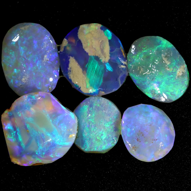 10.70 CTS CRYSTAL OPAL ROUGH  FROM LIGHTNING RIDGE [BR6103]