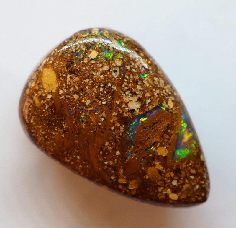 7.10CT VIEW PIPE WOOD REPLACEMENT BOULDER OPAL OI160