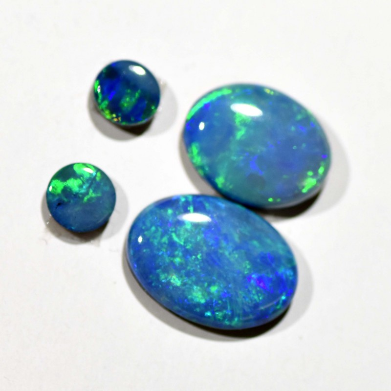 2.72cts Opal Doublets - 4 Stones (R2934)