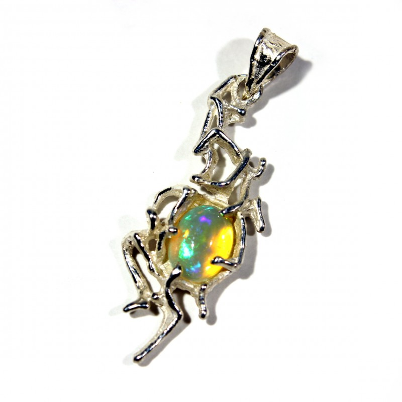 Pendant Silver 925 with Wello Opal Tot. Cts.  18.0   CV23