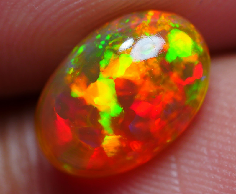 1.65 CRT DOBLE SIDE STUNNING NEON PUZZLE FIRE PLAY COLOR WELO OPAL