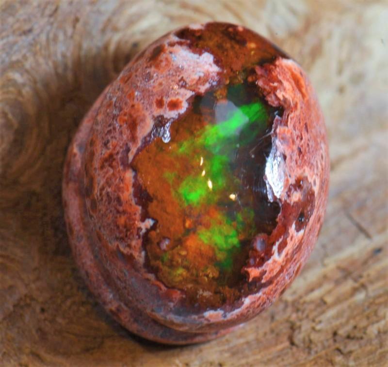 6ct Natural Mexican Matrix Cantera Fire Opal
