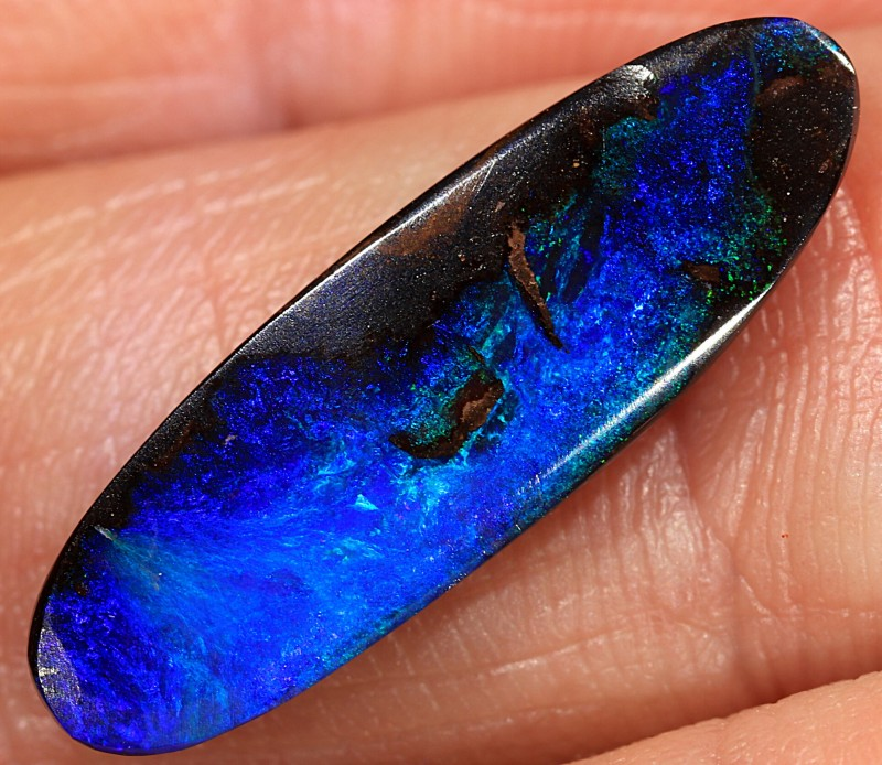 5ct 21x6.5mm Queensland Boulder Opal  [LOB-1522]