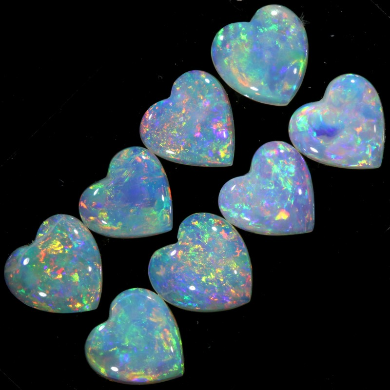 1.97 CTS CRYSTAL OPAL HEART SHAPED PARCEL CALIBRATED [C71]SAFE