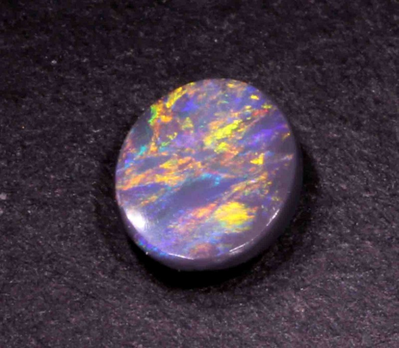FREE SHIPPING  0.90 CT BLACK OPAL FROM LR