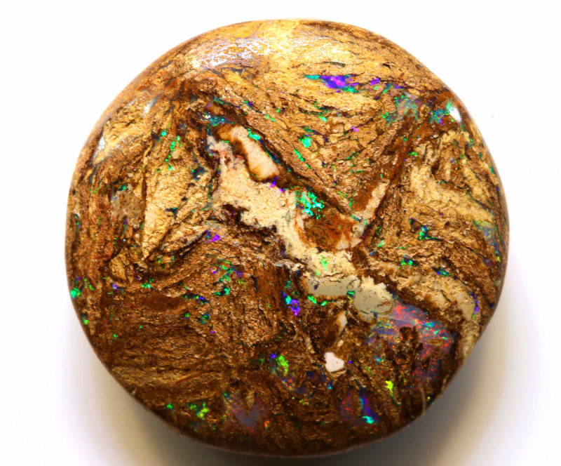 19.20CTS BOULDER WOOD FOSSIL OPAL STONE   NC-4756