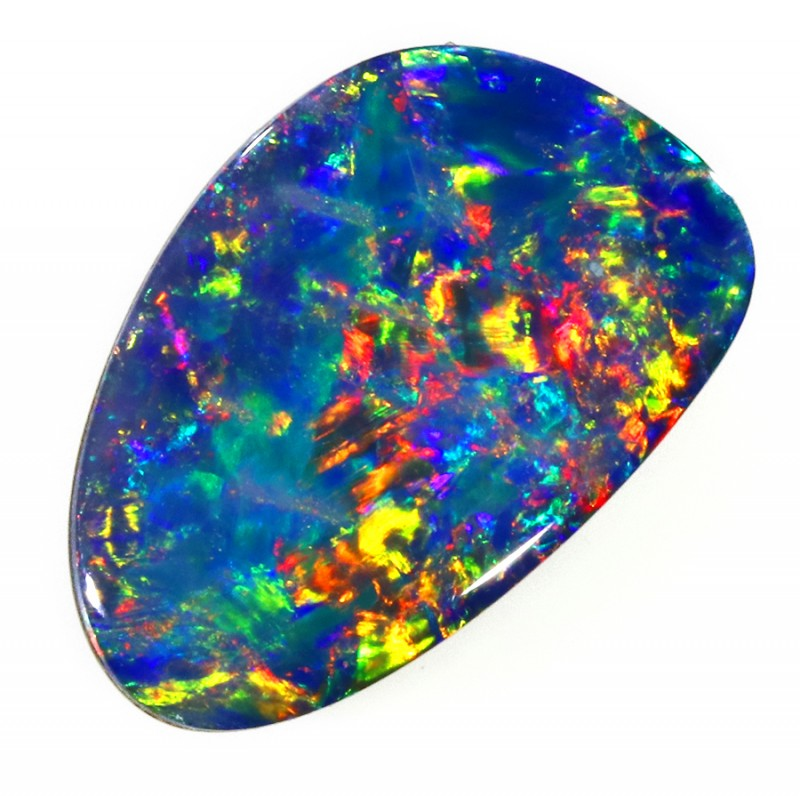 2.0CTS   OPAL DOUBLET GREAT COLOUR PLAY S234