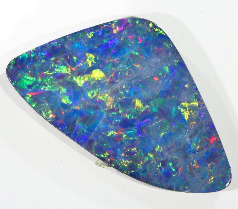 14.86CTS   OPAL DOUBLET GREAT COLOUR PLAY S236