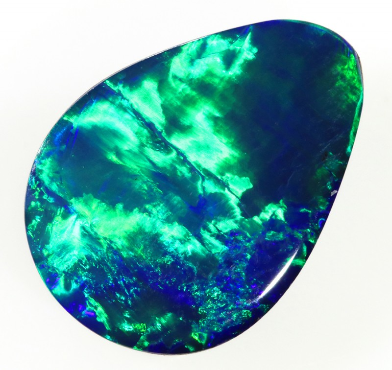 3.55CTS   OPAL DOUBLET GREAT COLOUR PLAY S249