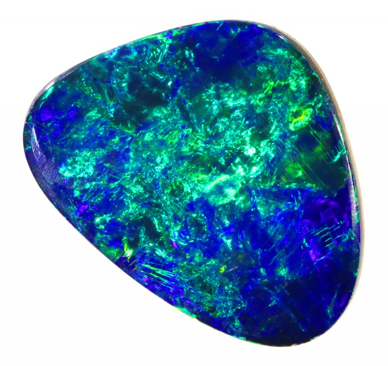 2.95CTS   OPAL DOUBLET GREAT COLOUR PLAY S250