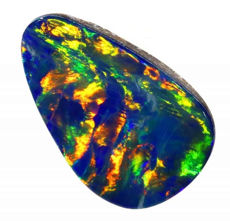 1.80CTS   OPAL DOUBLET GREAT COLOUR PLAY S251