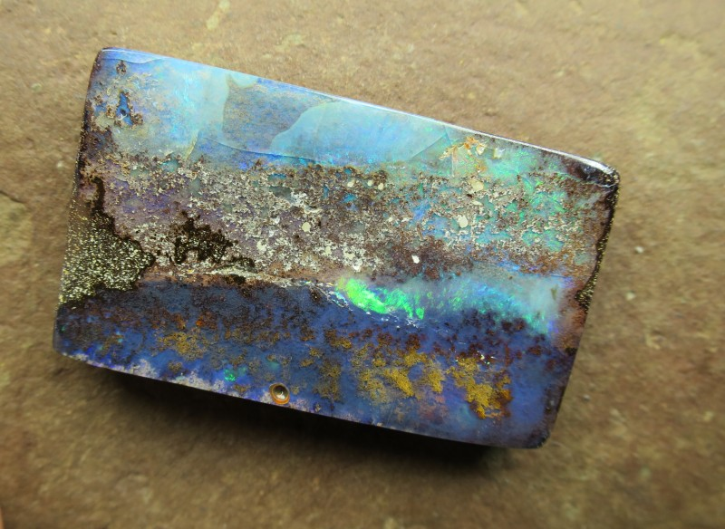 "76cts, ""BOULDER OPAL~BEEN MINNING~NEW STOCK"""